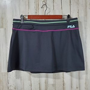 Fila Sport Womens Athletic Skirt Skort L Black